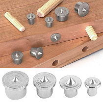 Center Locator Dowel Drill Dowel Tenon Carbon Steel Silver Portable Durable Practical Carpentry Rotary Tools Tool Parts