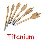 6/12pcs Flat Drill Long High-carbon Steel Wood Flat Drill Set Woodworking Spade Drill Bits Durable Woodworking Tool Sets