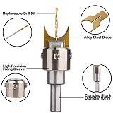 52Pcs Premium Beads Drill Bit Carbide Ball Blade Woodworking Milling Cutter Molding Tool Beads Router Bit Drills Bit Set
