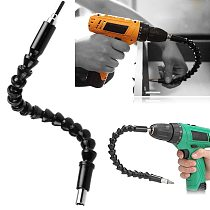 Electric Drill Screwdriver Bit Multifunctional Universal Snake flexible Hose Cardan Shaft Connection Soft Extension Rod Link