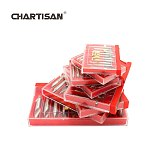 CHARTISAN High Quality HSS M2 Center Drill Bits For Hole Machining Reduces Error Reaming Center Drill