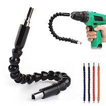 295mm Flexible Hex Shaft Drill Bits Extension Bit Holder with Magnetic Connect Drive Shaft Electric Drill Power Tool Accessories