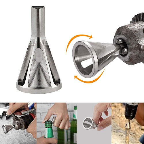 Drillforce Deburring External Chamfer Tool Steel Metal Remove Burr Tools for Drill Bit Dropshiping