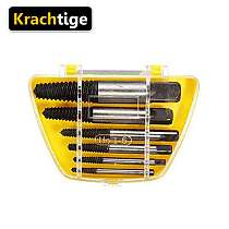 Krachtige 6Pcs Screw Extractor Center Drill Bits Guide Set Broken Damaged Bolt Remover Removal Speed Easy Out Set