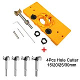 Concealed 35MM Cup Style Hinge Jig Boring Hole Carpenter Guide Forstner Bit Woodworking DIY Tool Drill Carbon Steel Wood Cutter