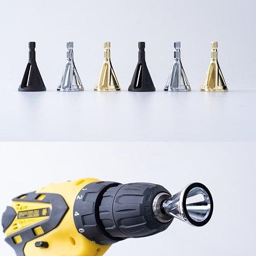 Stainless Steel Deburring Hexagon/ Shank External Chamfer Tool High Strength Hardness Drill Bit Remove Burr Cheap