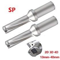 High Quality SP 2D 3D 4D U drill 13mm 40mm Indexable Drill Bit CNC Metal Drilling 14mm 20mm 25mm Precision standard power Drill