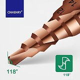 HSS Step Drill M35 Cobalt Titanium Coated Hole Drill Cone Drill Bit 4-12/4-20/4-32mm For Metal Drilling Set Hole Saw