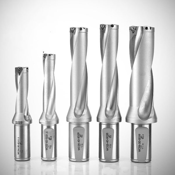 Precision CNC Turning Tooling 2D/3D/4D/5D 20.5-25mm, cnc indexable U drill for carbide inserts SPMG inserts