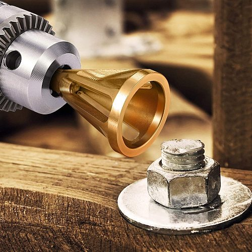 Repairs Damaged Bolts Tightens The Nuts Deburring External Chamfer Bit Remove Burr Repairs Tools For All Kinds Of Chuck Drills