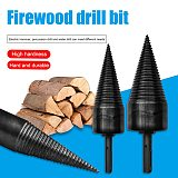 38mm 45mm Hex Shank Firewood Drill Bit Woodworking Tools Splitter Firewood Split Drill for Firewood Machine Wood Chop Breaker