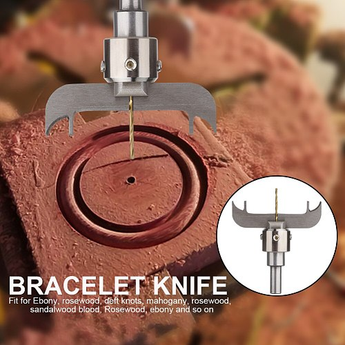 Woodworking Tools Bracelet Ring Milling Cutter Blades for Cnc Machine Drill Bit Wooden Bead Drill Punch Tool Hole Saw Drill Set