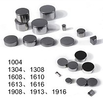 25pcs 13*08 High Quality PDC Cutter Inserts For Well Drill
