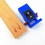 MithBros Upgraded Mini Style Pocket Hole Jig Kit System for Wood Working & Joinery Step Drill Bit Accessories Hardware Tools