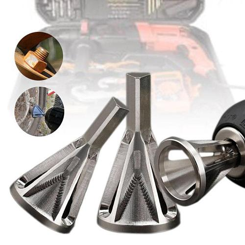 Deburring External Chamfer Tool Metal Remove Burr Tools for Chuck Drill Bit  Suitable for All Kinds of Chuck Drill Chamfer Tool