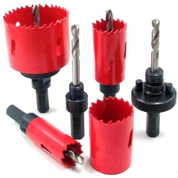 17mm-45mm Professional M42 Bimetallic HSS Drilling Hole Saw Cutter Drill Bit Set  for Woodworking DIY Wood Cutter Drill Bit