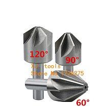 1PCS 6mm-50mm 60 Degree 90 Degree HSS Chamfer Cutter Chamfering Drilling Mill Drill Milling Cutting Tool(10/16/20/25/30/40/50mm