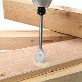 15Pcs Full Carbon Steel Hex Shank Spade Flat Wood Drill Bit Set For Metal 6-25Mm High Steel Wood Drilling Power Tools Kit