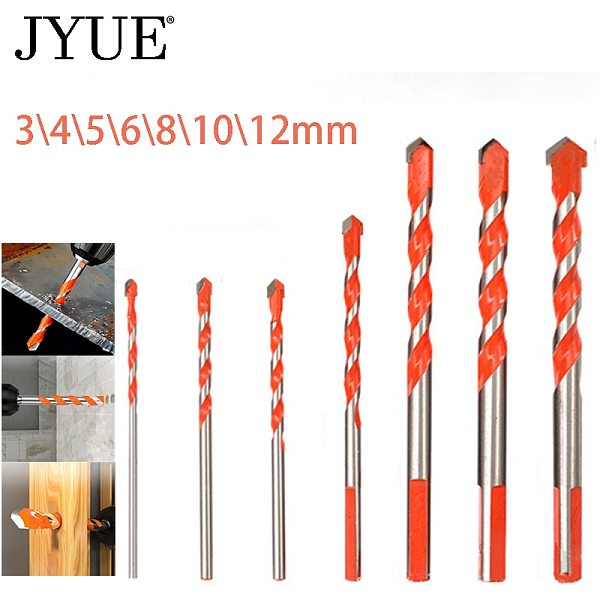 Professional drill bit set 3-12mm multi-function drill bit for ceramic tile, concrete, wall, metal and wood drilling
