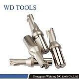 5D-fast-long metal drill,Lathes WC series U drill,CNC machine tools drilling Diameter 14-45mm drills