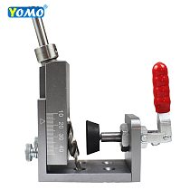 2020 upgrade Fast clamping Pocket Hole Jig Kit System With 9mm Drill Bit Set Carpenter WoodWorking  Tools kit