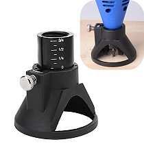Dremel Accessories Multipurpose Cutting Guide Attachment Electric grinding Locator Drill's Dedicated Fixed Base holder #SS