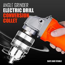 Angle Grinder Electric Drill Conversion Collet Chuck Conversion Head Holder Power Drill Convert Adapter Electric Angle Grinder