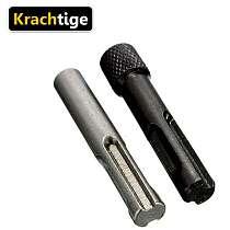 Krachtige 2Pcs 1/4 Converter Socket Nut Impact Driver Set Hex Shank Holder Drill Bit Adapter For SDS Hammer Drill Accessorie