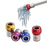 Strong Magnetic Ring Anti Corrosion Slip Magnetic Ring Alloy Electric Hex Screw Driver Bit 4 Colors