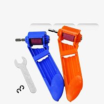 Drill bit sharpener 2-12.5mm Portable Corundum Grinding Wheel Drill Bit Sharpener Titanium Drill Portable Drill Bit Powered Tool