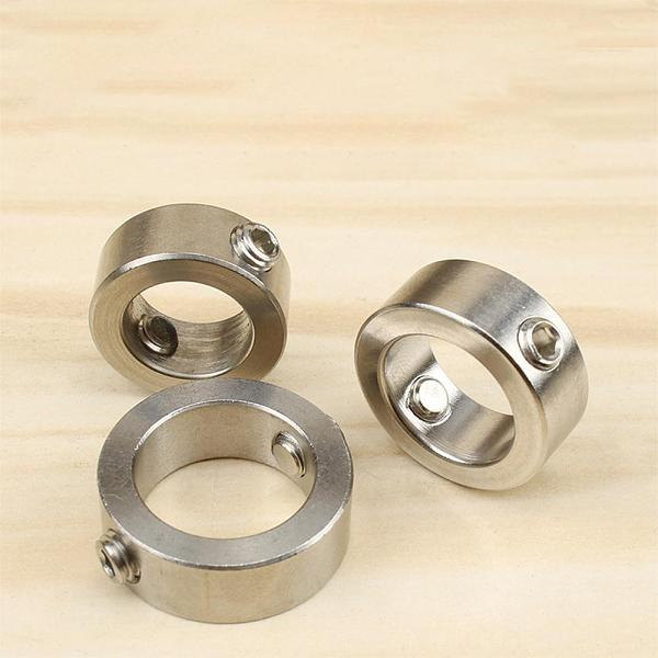 Stainless Steel Woodworking Tool Drill Locator Depth Stop Collars Ring Positioner