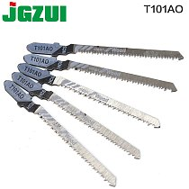 5pcs T101AO Jigsaw Blade Set High Quality Jig Saw Blades Clean Cut Wood Cutting Tool 1.5-15mm rct