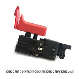 Drill Switch For Bosch GBH2-26DE GBH2-26DFR GBH 2-26 E GBH2-26DRE GBH2-26 For Electric Drill Trigger Switches Speed Controller