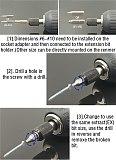 22Pcs Set Extractor Screwdriver Remover Purpose Tools Disassemble Screws Bolt Stud Slip Teeth Damaged Demolish Stripped Broken