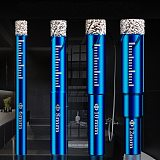 Diamond Coated Drill Bit Set 6mm 8mm10mm 12mm 14mm 16mm Tile Marble Glass Ceramic Hole Saw Marble Cutter Drilling Bit Power Tool