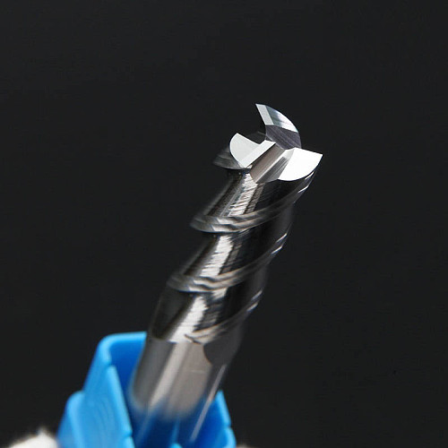 Aluminum Copper Wood Cutter Endmill HRC50 3 Flute Cnc Milling Tools Tungsten Steel Milling Cutter End Mill 1mm 2mm 3mm 4mm