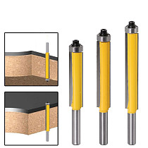 1pc 8mm Shank 2  Flush Trim Router Bit with Bearing for Wood Template Pattern Bit Tungsten Carbide Milling Cutter for Wood 02017