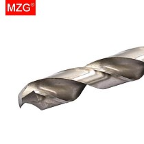 MZG Straight Shank Tungsten Steel HRC55 9.5mm 10.0mm 11.0mm 12.0mm Drill Bits for CNC Precision Hole Machining Milling Drilling