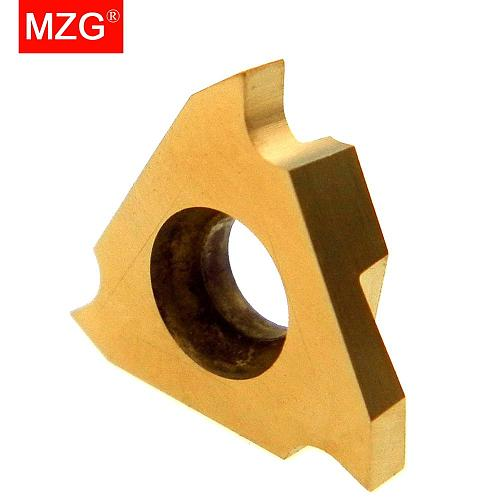 MZG Triangle TGF32R050 TGF32R075 ZM826 Stainless Steel Shallow Grooving Cutter CNC Lathe Cutting Tools Solid Carbide Inserts