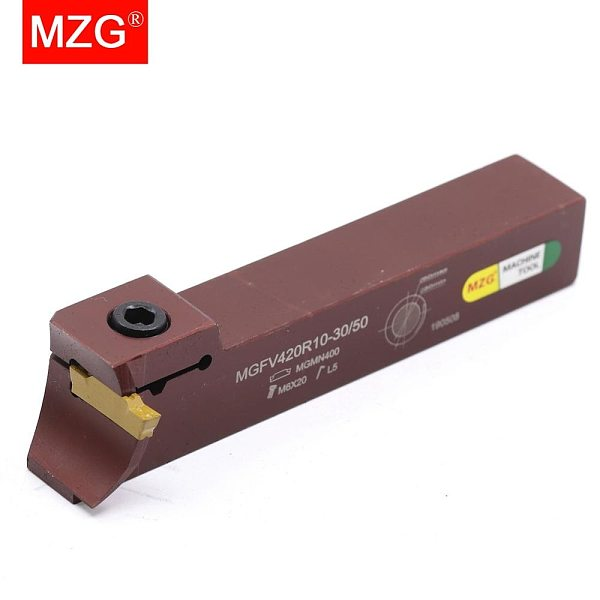 MZG MGFV325R15-50-80 Cutter Groove CNC Lathe Machining Cutting Toolholders Parting End Face Grooving Turning Tools