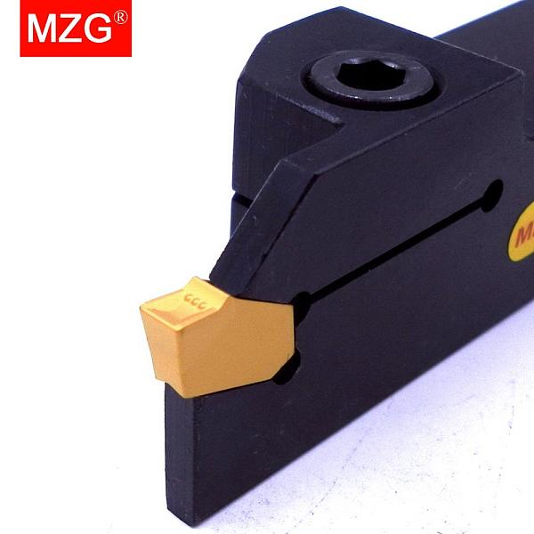 MZG ZQ 16 20 25 MM Grooving Width 2mm  CNC Lathe Machining Cutting Toolholder Metal Grooving Blades Parting Cutter Boring Tool