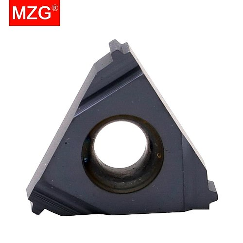 MZG ACME 16IR10 ZP680 CNC External Threading Tools Indexable Cement Tungsten Carbide Screw Thread Inserts for Steel Processing