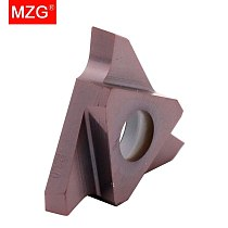 MZG GBA43R100 GBA43R150 ZM856 Stainless Steel Shallow Grooving Cutter CNC Lathe Cutting Tools Triangle Solid Carbide Inserts