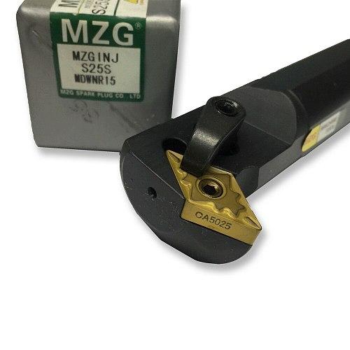 MZG 25mm 32mm S25S-MDWNR15 CNC DNMG Inserts Turning Steel Lathe Cutter Bar Toolholder Clamping Locked Internal Boring Tool