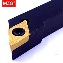 MZG 12mm 16mm 20mm SDJCR1010H07 Turning Arbor CNC Lathe Cutter Bar Carbide Insert External Boring Tools Clamped Steel Toolholder