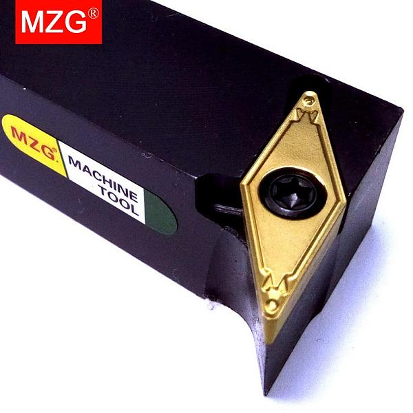 MZG SVUCL 16*16 20*20 S Type Boring Toolholder VCMT Carbide Insert Lathe Machining Cutter Bar CNC External Turning Tool Holder
