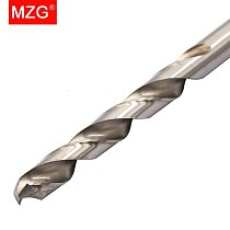 MZG Straight Shank Tungsten Steel HRC55  4.5mm 4.8mm  5.0mm Drill Bits for CNC Precision Hole Machining Milling Drilling