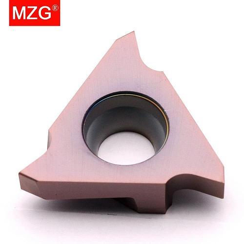 MZG GBA43R330 GBA43R450 ZM856 Stainless Steel Shallow Grooving Cutter CNC Lathe Cutting Tools Triangle Solid Carbide Inserts