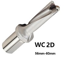 BEYOND 2D WC Indexable Drill Bit U Drill Hexagonal Inserts 56 57 58 59 60 mm DTH drills use Carbide Insert WCMT CNC Tools