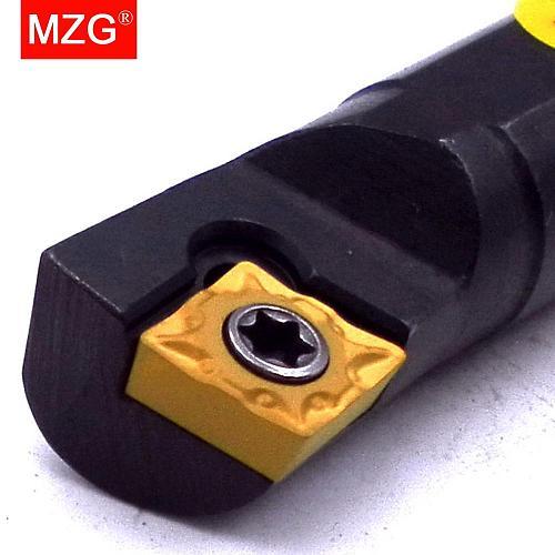 MZG 7mm 8mm 16mm S07K S08 S12M SCKCR  CNC Turning Lathe Cutter Bar Hole Processing Clamping Locked Internal Boring Tool